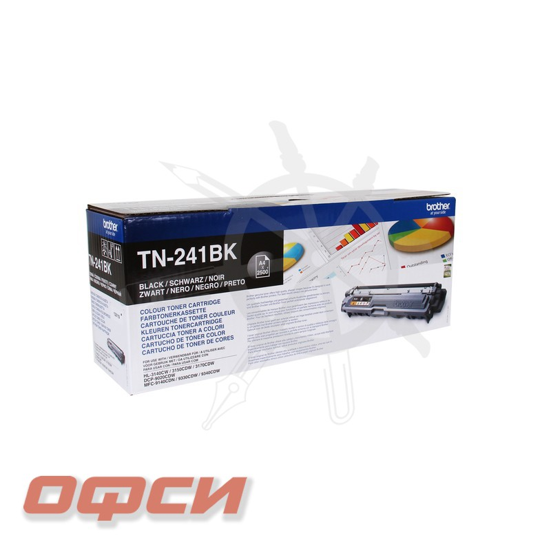 Картридж Brother TN-241BK черный