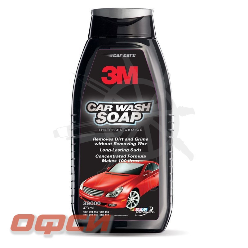 Автошампунь 3M Car Wash Soap, 473 мл