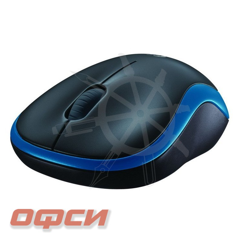 Мышь компьютерная Logitech Wireless Mouse M185 Blue USB