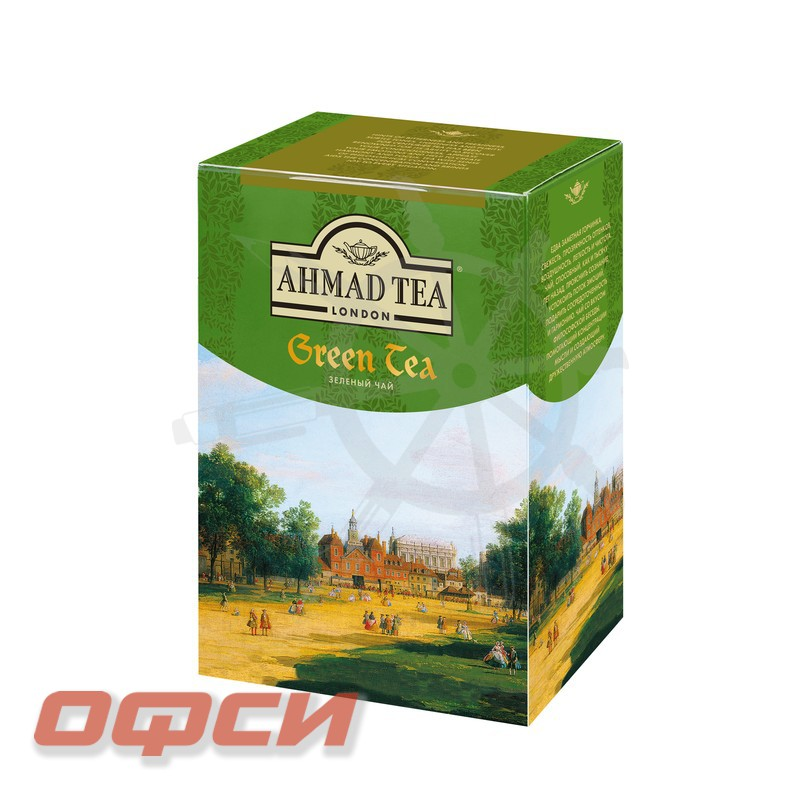 Чай Ahmad Green Tea зеленый 200 г
