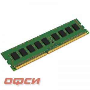 Модуль памяти Kingston KVR13N9S6/2 (2Gb DIMM DDR3 1333, CL9, для ПК)