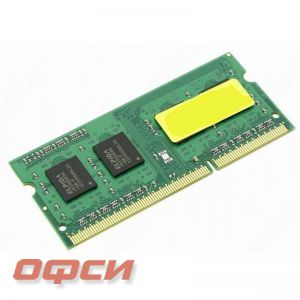 Модуль памяти Kingston KVR16S11S8/4 (4Gb SODIMM DDR3 1600, CL11, д/ноут)